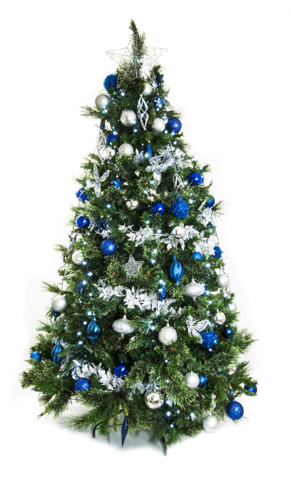 Full Width Artificial Christmas Tree All Gold